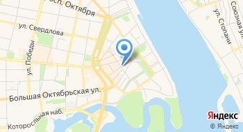 Главное управление МЧС России по ЯО, общий отдел на карте