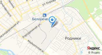 ОТОиТК №2 Прикубанского т/п Краснодарской таможни на карте