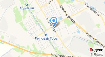 Магазин Палитра на карте