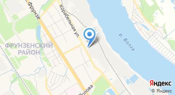 Группа компаний Мелстон (Ярославль) на карте