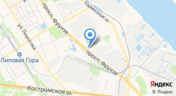 Винтовые-Сваи-Ярославль на карте