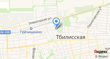 Земельный центр Тбилисский, ГУП на карте