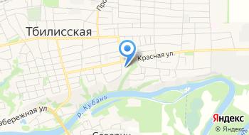 ГКУ Кк центр занятости населения Тбилисского района на карте