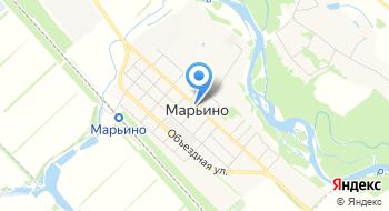 Марьинское на карте