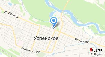 Военный Комиссариат Новокубанского и Успенского Районов, Объединенный, МО РФ на карте
