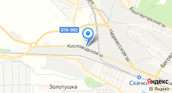 Андреевский, ТК на карте