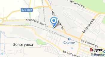 ОБ ДПС ГИБДД ГУ МВД России по Ставропольскому краю на карте