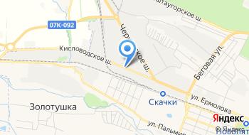 Шахтинская плитка на карте