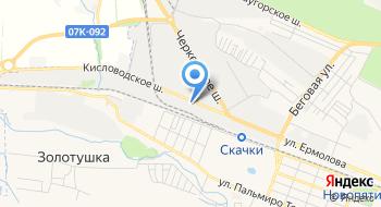 Отдельный Батальон ДПС ГИБДД г. Пятигорска МВД на карте