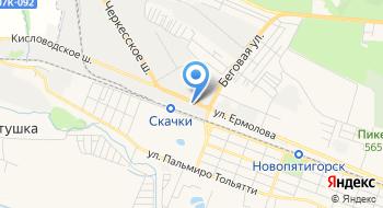 Газпром межрегионгаз, Центральный офис на карте