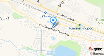 АвтоцентрГаз Кавказ Пятигорск на карте
