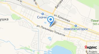 Пятигорск-Экспресс на карте