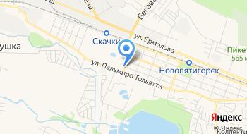 Детали машин ГАЗ Пятигорск на карте