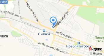 Северо-Кавказская научно-исследовательская лаборатория технической, экологической, судебной экспертизы и оценки недвижимости на карте