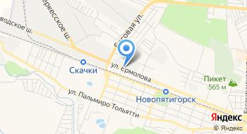 Пятигорский молочный комбинат, торговый павильон №1 на карте