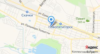 Церковь Николая Чудотворца в Пятигорске на карте