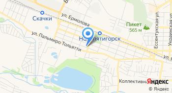 Отдел по вопросам миграции отдела МВД России по городу Пятигорску на карте
