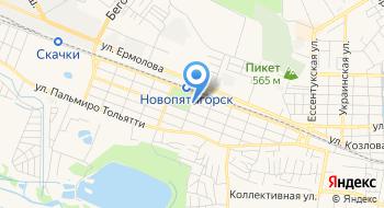 Отделение почтовой связи Пятигорск 357528 на карте