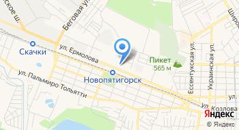 Пластидип Пятигорск на карте