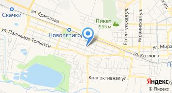 Филиал на Шатило Городской стомтаологии в г. Пятигорске на карте