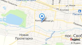 Пятигорский филиал ФГБУ ВНИИКР на карте