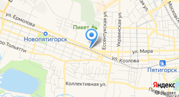 Маркопул-Ставрополь на карте