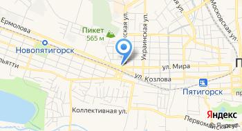 Ремонт АКПП на СКФО на карте
