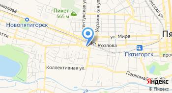 ЧПОУ Пятигорский колледж управления и новых технологий на карте