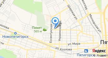 Общежитие Северо-Кавказского Федерального Университета, Фгаоу ВПО на карте