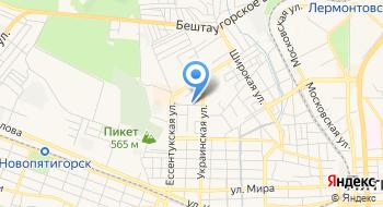 Интернет-магазин Буква на карте