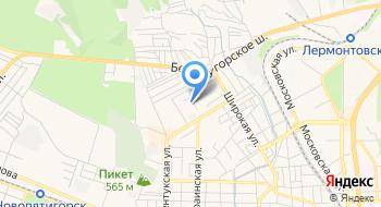 ГБУЗ СК Пятигорский противотуберкулёзный диспансер на карте