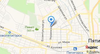 Газпром межрегионгаз, Филиал в г. Пятигорске на карте