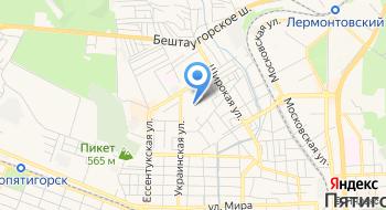 Участковый Пункт Полиции № 1, МВД на карте