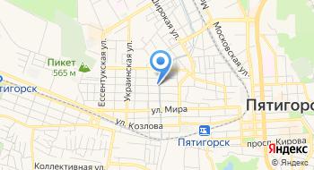 Кавминлифт, филиал на карте