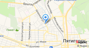 Эвакуатор Пятигорск КМВ на карте