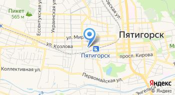 Собор Михаила Архангела в Пятигорске на карте