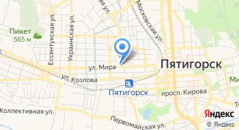 Эвакуатор Пятигорск на карте