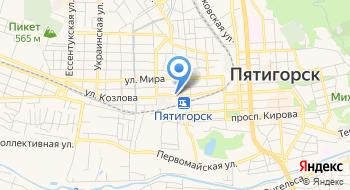 Аварийная Служба, Пятигорскгоргаз на карте