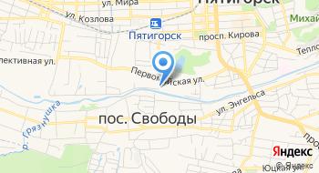 Управление Социальной Поддержки Населения Администрации г. Пятигорск на карте