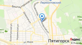 Пятигорский техникум Экономики и Инновационных технологий на карте