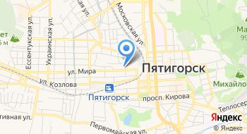 Пятигорское городское казачье общество на карте