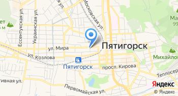 Ставропольская межобластная ветеринарная лаборатория Пятигорский филиал на карте