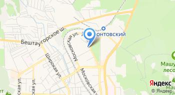 Отделение почтовой связи Пятигорск 357524 на карте