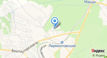 Лесхоз Бештаугорский, ГБУ на карте