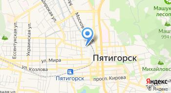 Диалог центр на карте