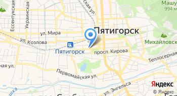 Пятигорское Протезно-Ортопедическое предприятие, ФГУП на карте