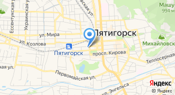 Пятигорский техникум торговли, технологий и сервиса, ГБПОУ на карте