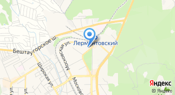 Пятигорский, Учебно-Курсовой комбинат, НОУ ДПО на карте