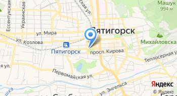 Прокуратура, Городская, Фку на карте