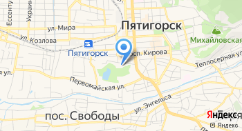 Пятигорский водоканал на карте